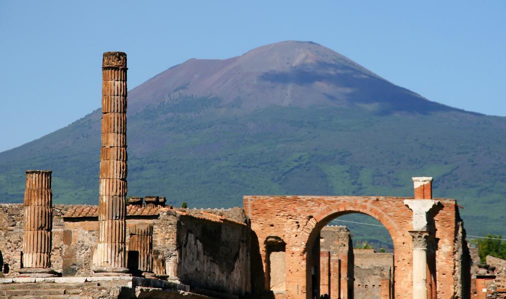 Image Naples et pompéi, vestiges et volcans