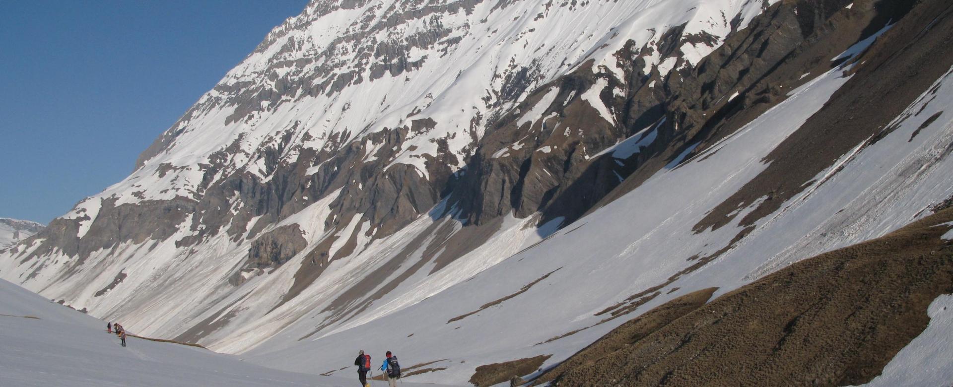 Voyage à la neige : Week-end raquettes en vanoise