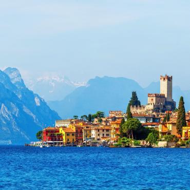 Bolzano-Venise à vélo et rives du lac de Garde