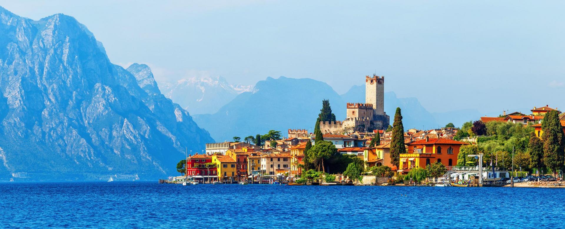 Voyage à vélo : Bolzano-venise à vélo et rives du lac de garde