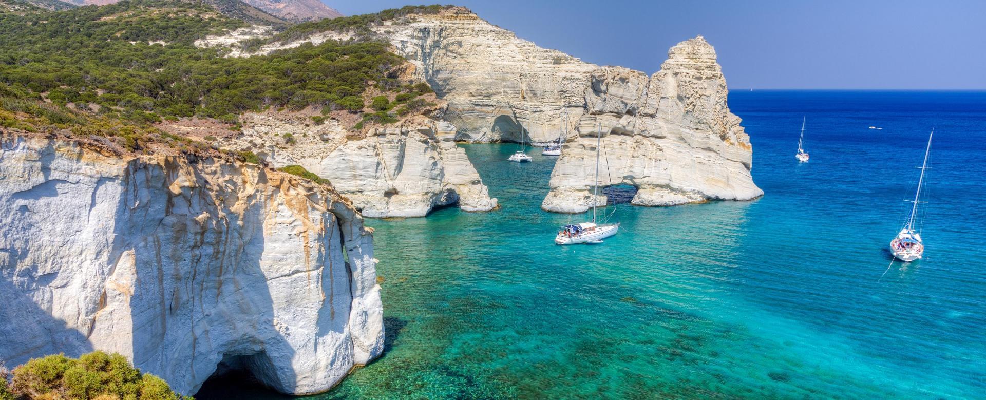 Voyage à pied : Cyclades occidentales : sifnos et milos