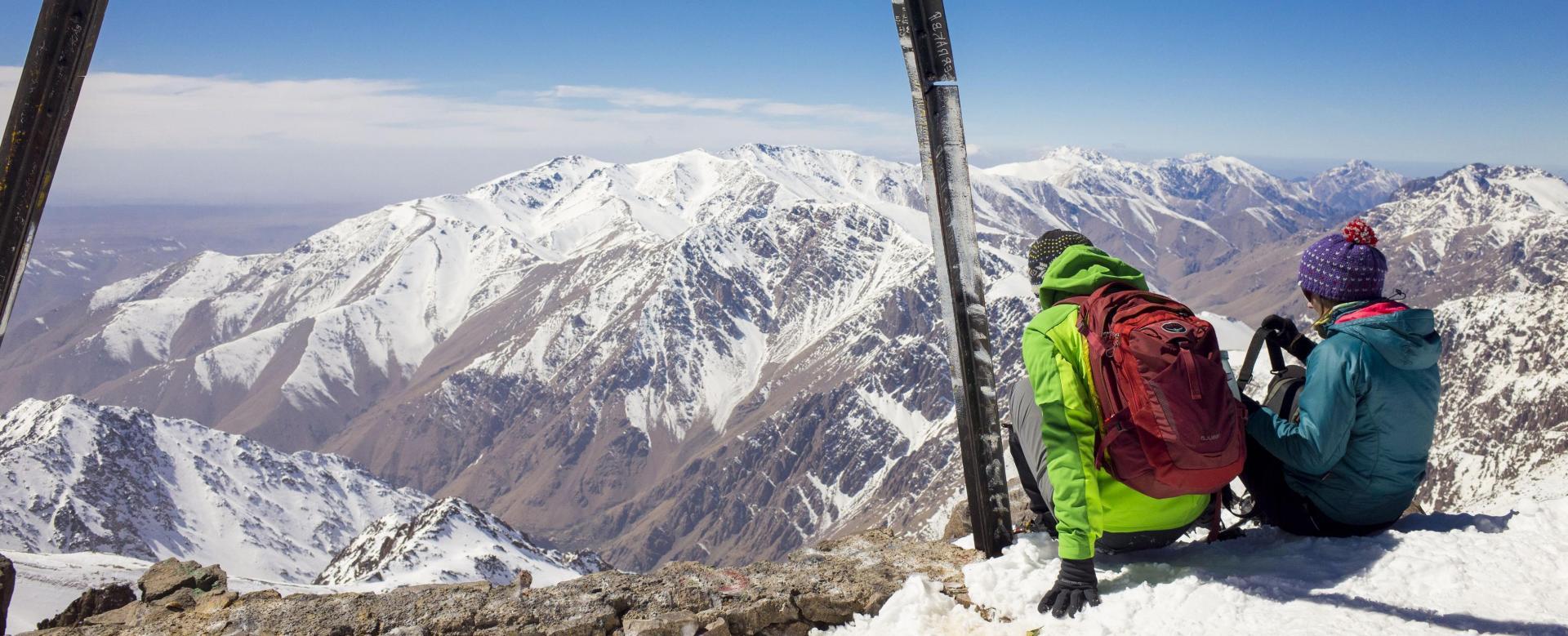 Voyage à pied : Les neiges du toubkal