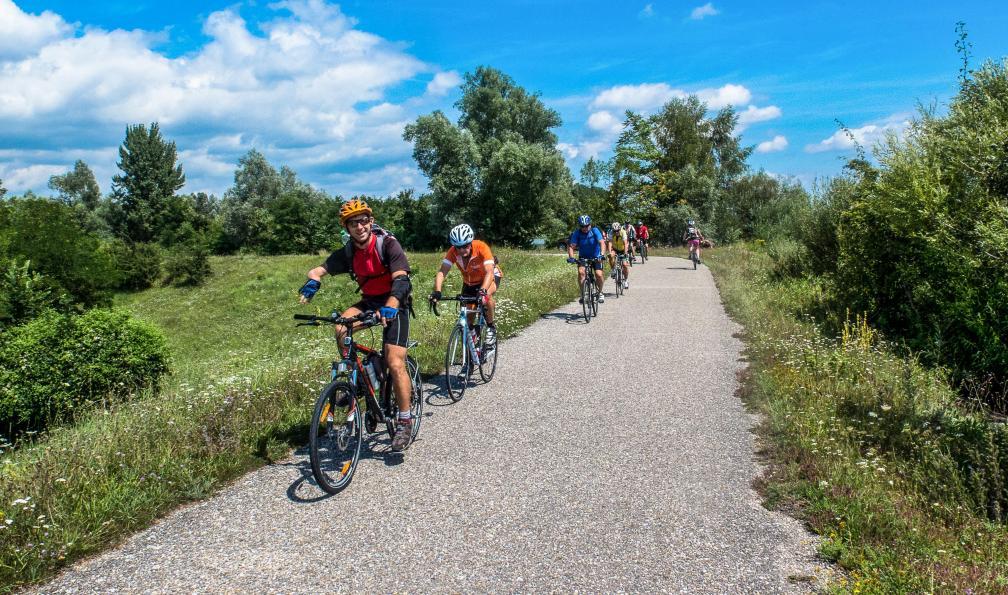 Image Le long du danube autrichien à vélo