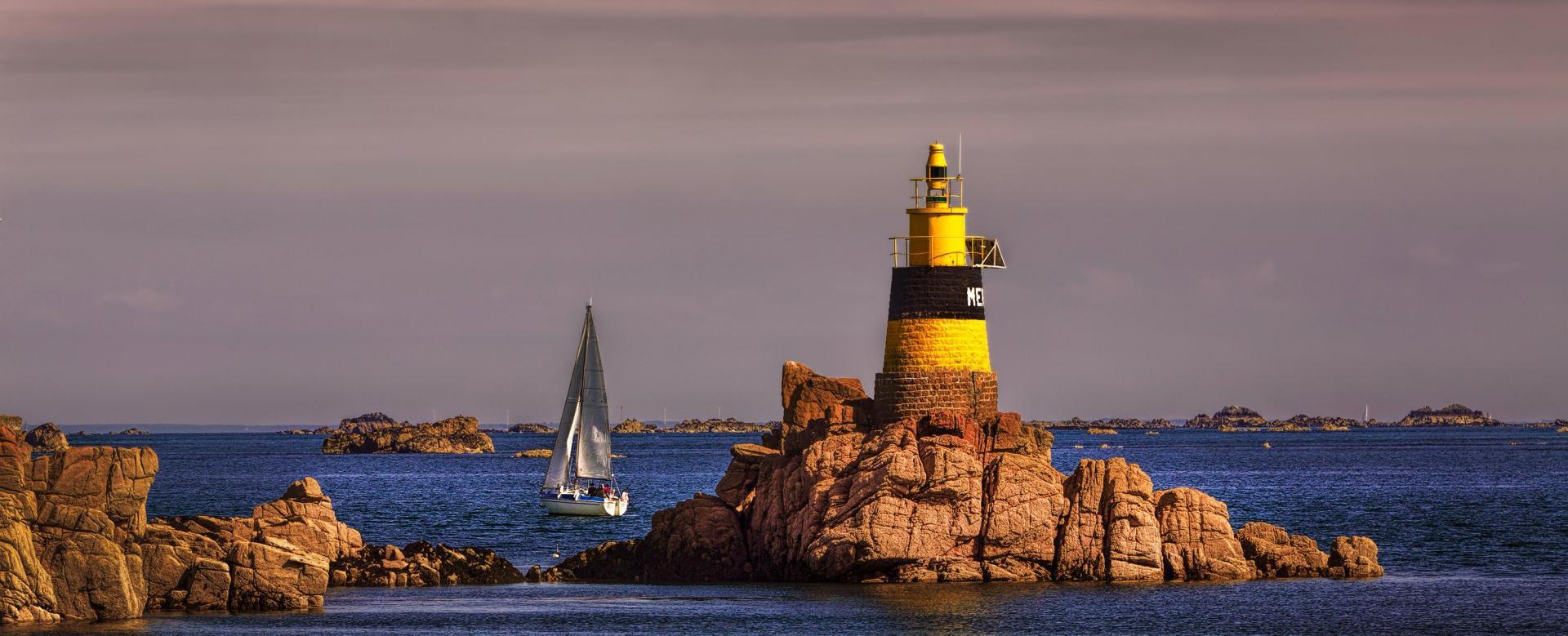 Voyage à pied : Bretagne : Réveillon breton