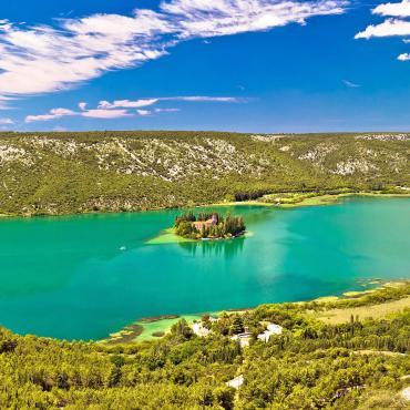 La Dalmatie du nord au sud