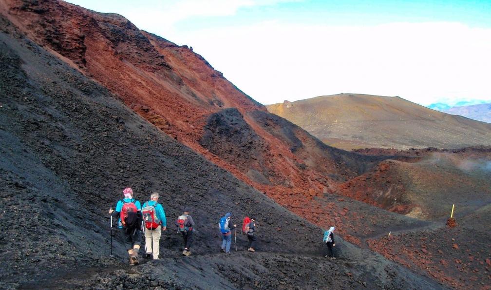 Image Trek du laugavegur via le col de fimmvörðuháls