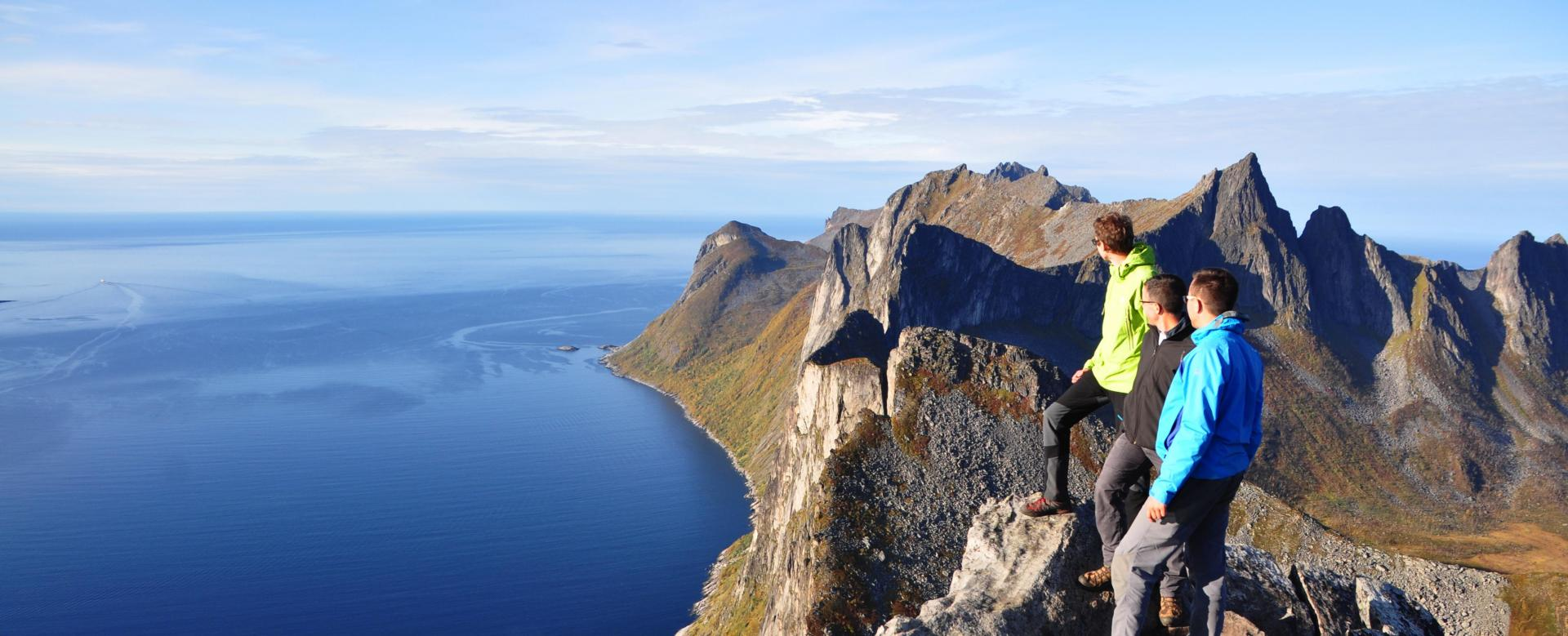 Voyage à pied : Norvège : Archipels du nord : senja, vesterålen et lofoten