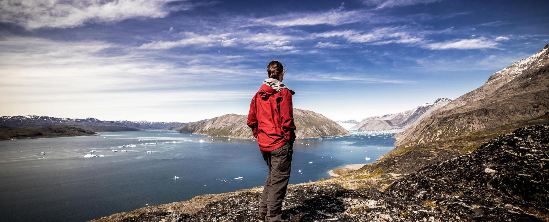 Voyage à pied : Fjords et villages du sud-groenland