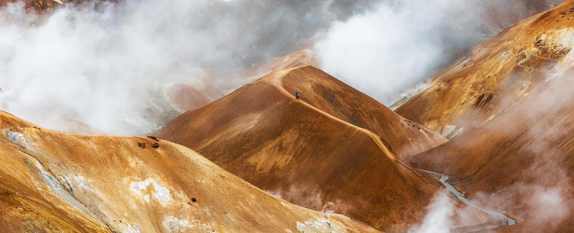 Voyage à pied Islande : La terre des fumées