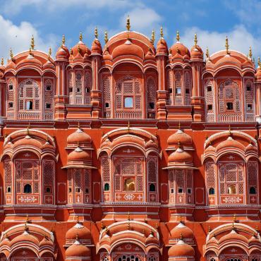 Rajasthan: ville rose, ville blanche