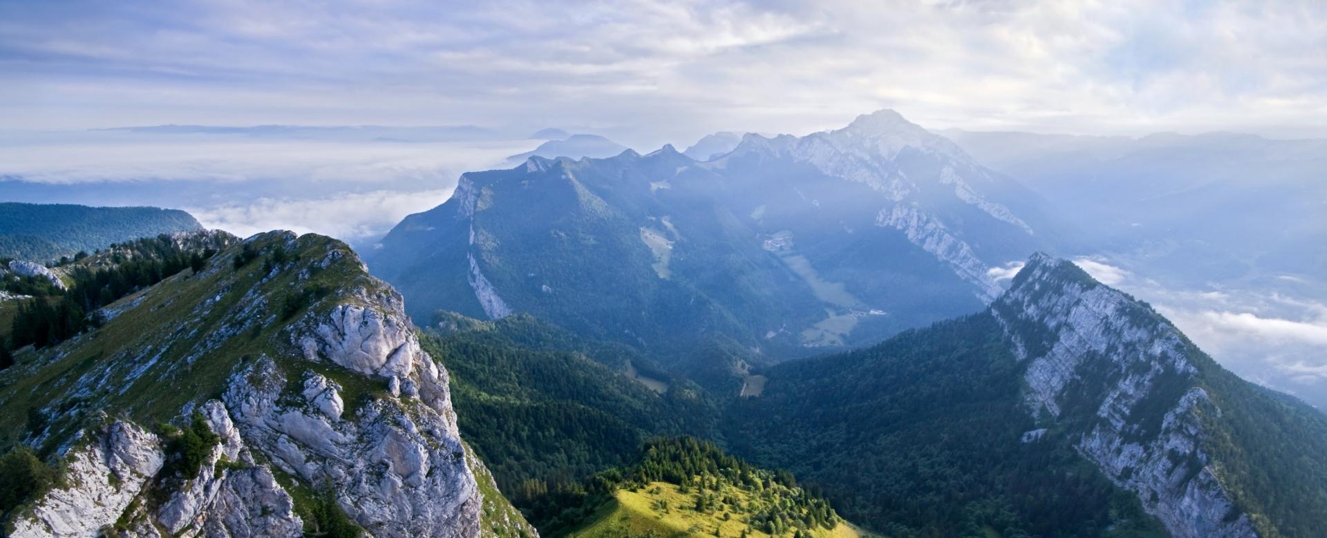 Voyage à pied : Alpes du Nord : Le tour de la chartreuse