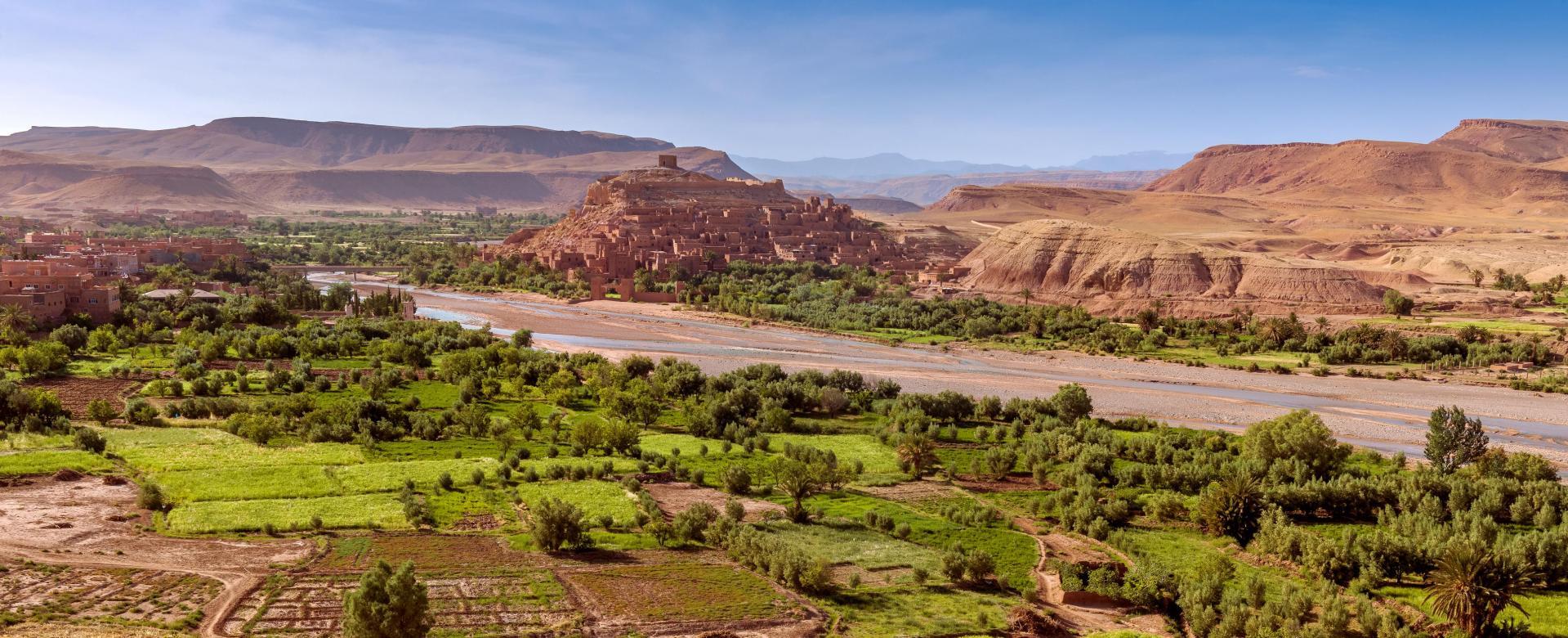 Voyage à pied Maroc : La vallée des roses