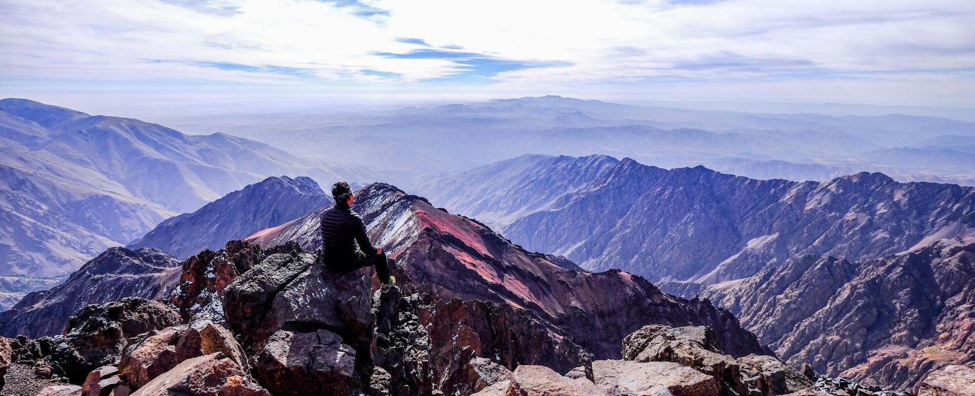 Voyage à pied : Le toubkal tranquille