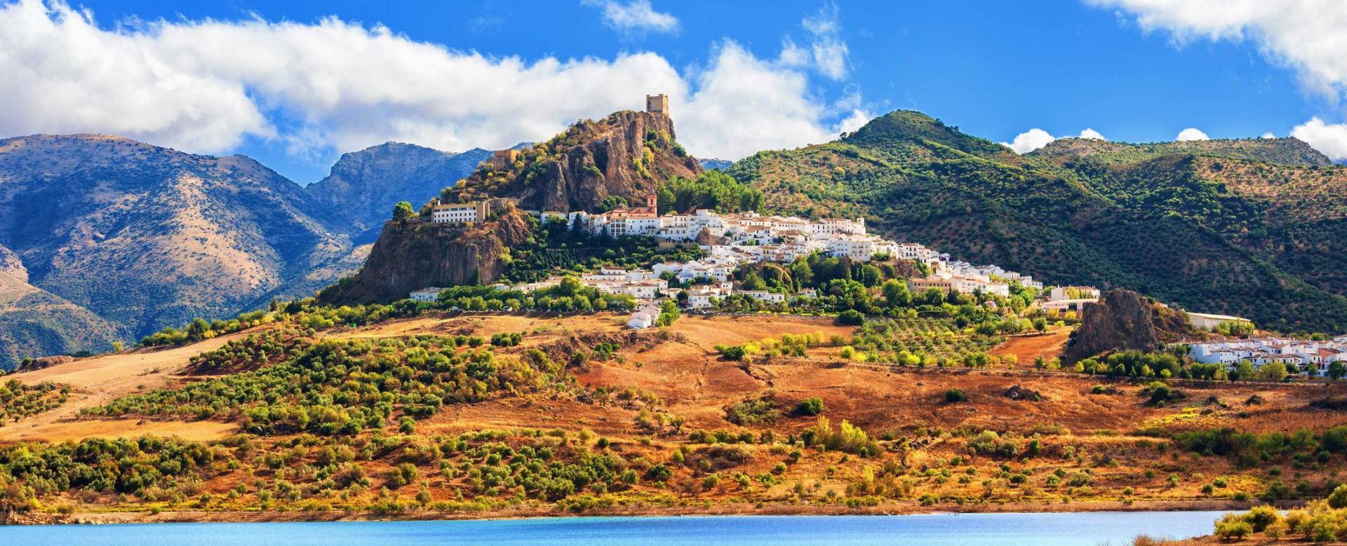 Voyage à pied Espagne : Les montagnes andalouses