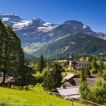 Au coeur des Alpes vaudoises, les Diablerets