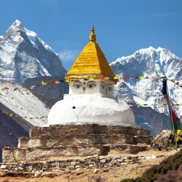 trekking everest