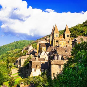St-Jacques : du Puy-en-Velay à Conques en trail