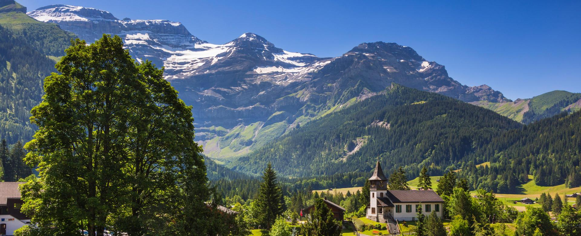 Voyage à pied : Au coeur des alpes vaudoises, les diablerets