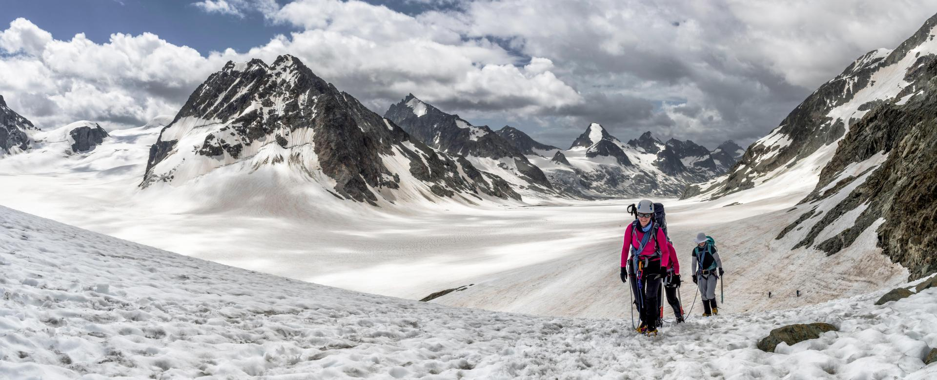 Voyage à pied : La haute route chamonix-zermatt