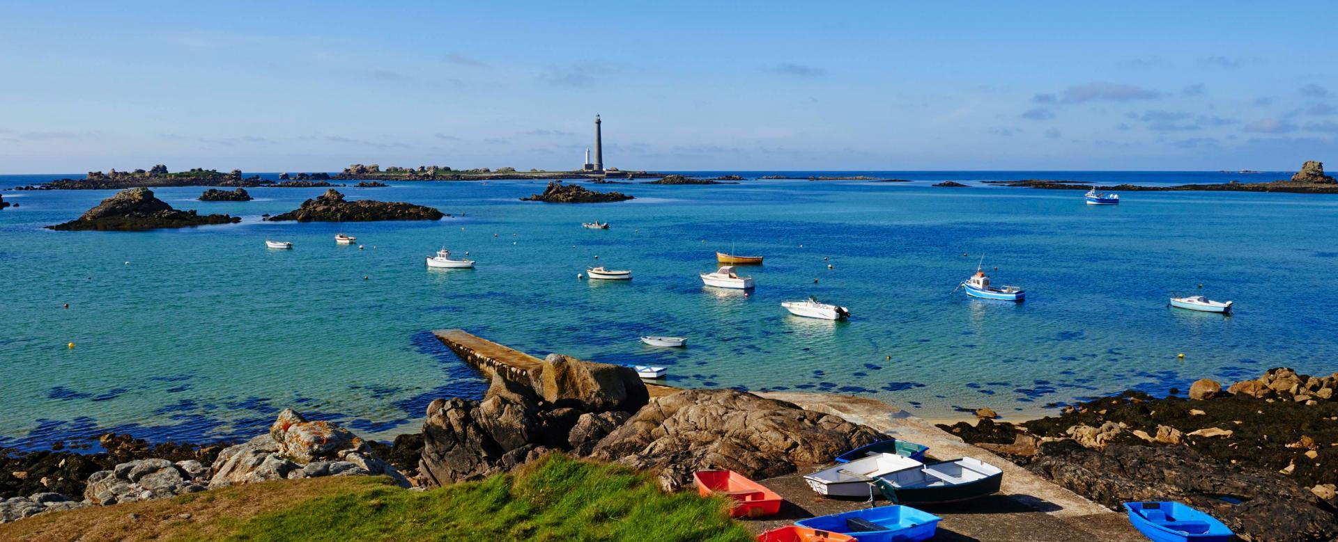 Voyage à pied France : Lagons et fjords bretons