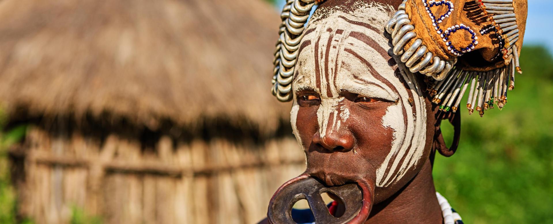 Voyage à pied : Tribus de l'omo et parc national du balé