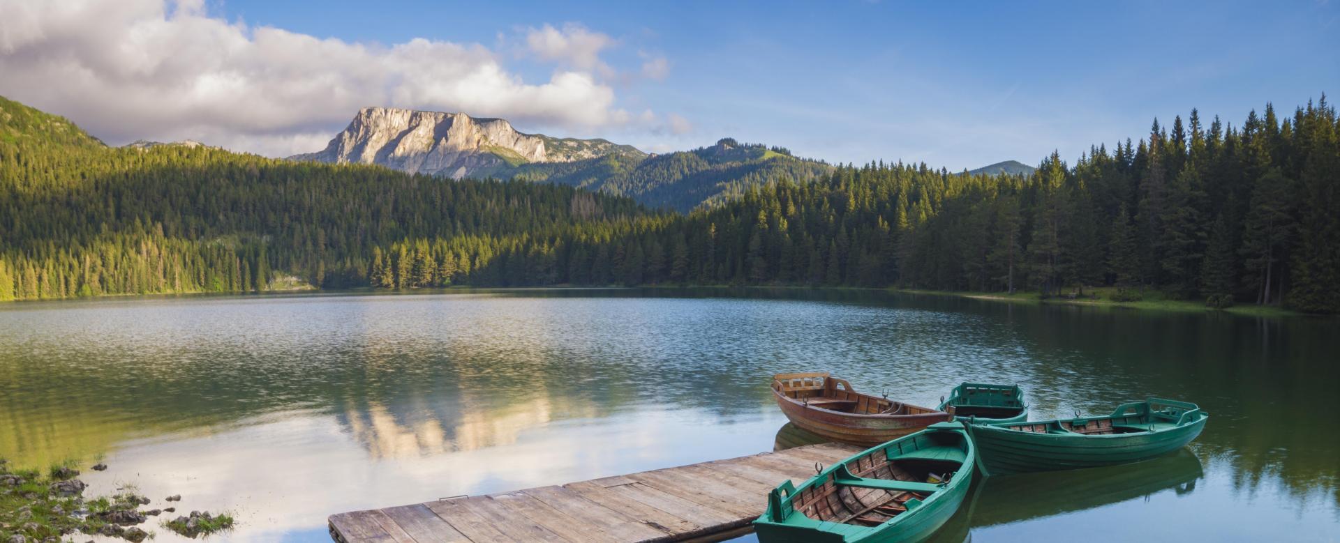 Voyage à pied : Le monténégro, des montagnes au fjord de kotor