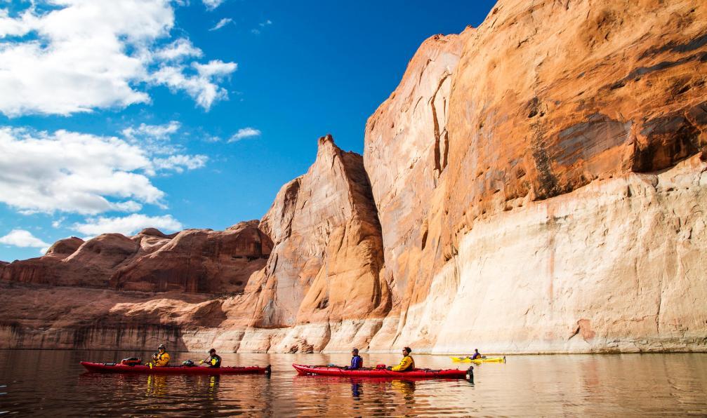 Image Rando-kayak sur le lac powell