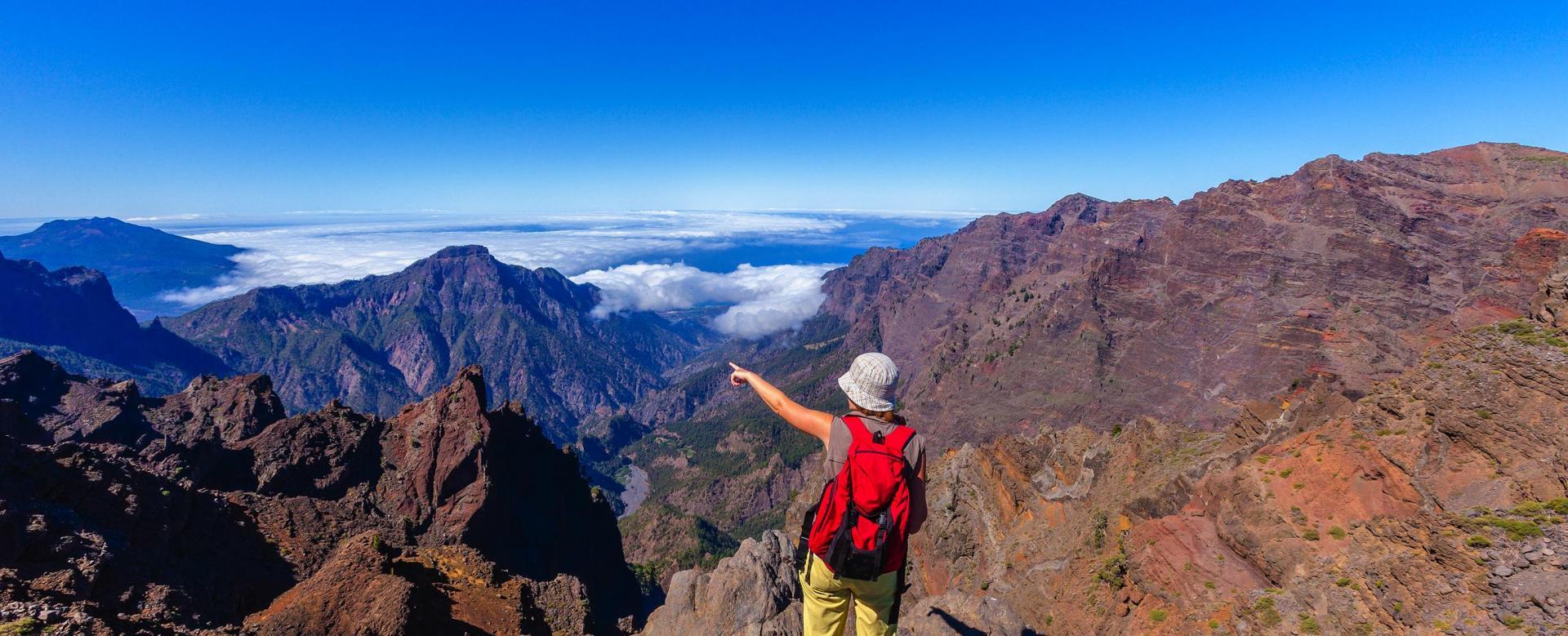 Voyage à pied : Tenerife et la palma