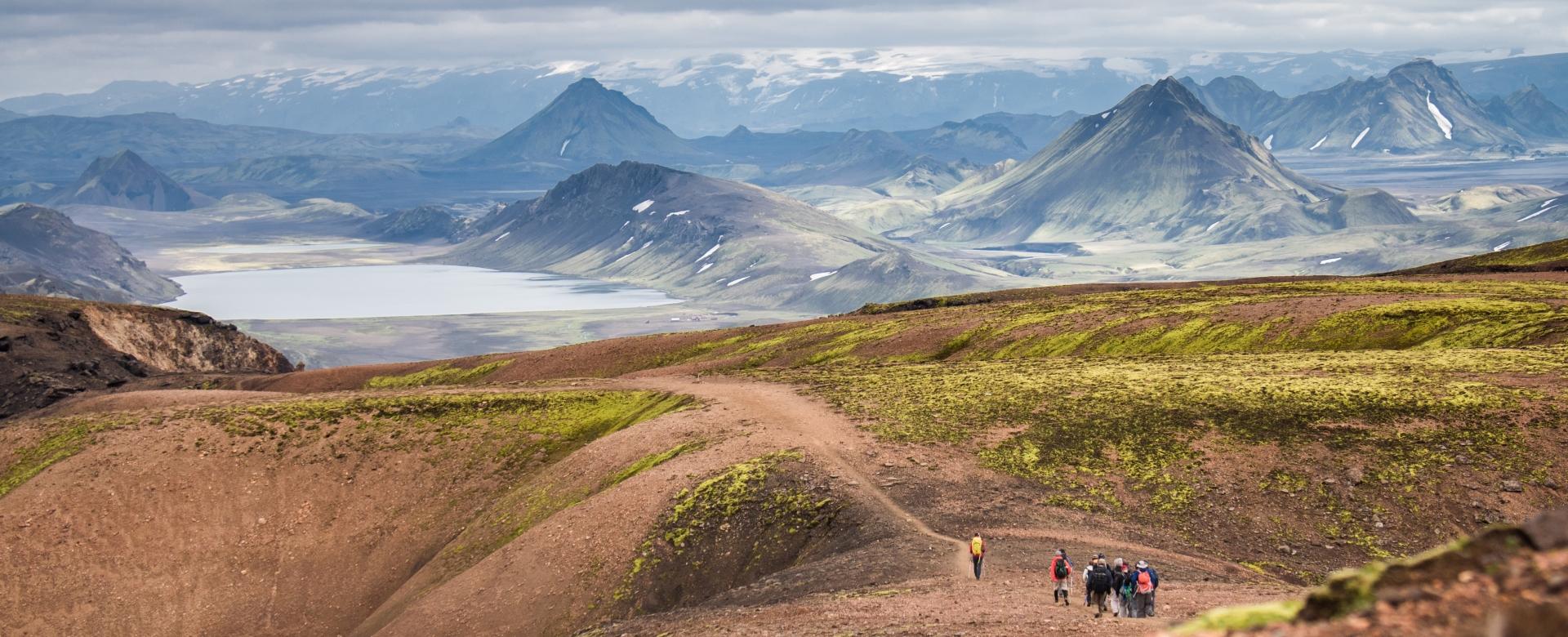 Voyage à pied : Trek du laugavegur via le col de fimmvörðuháls