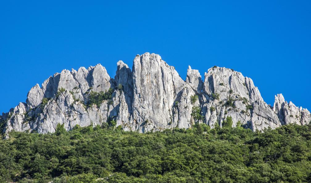 Image Mont ventoux et dentelles de montmirail