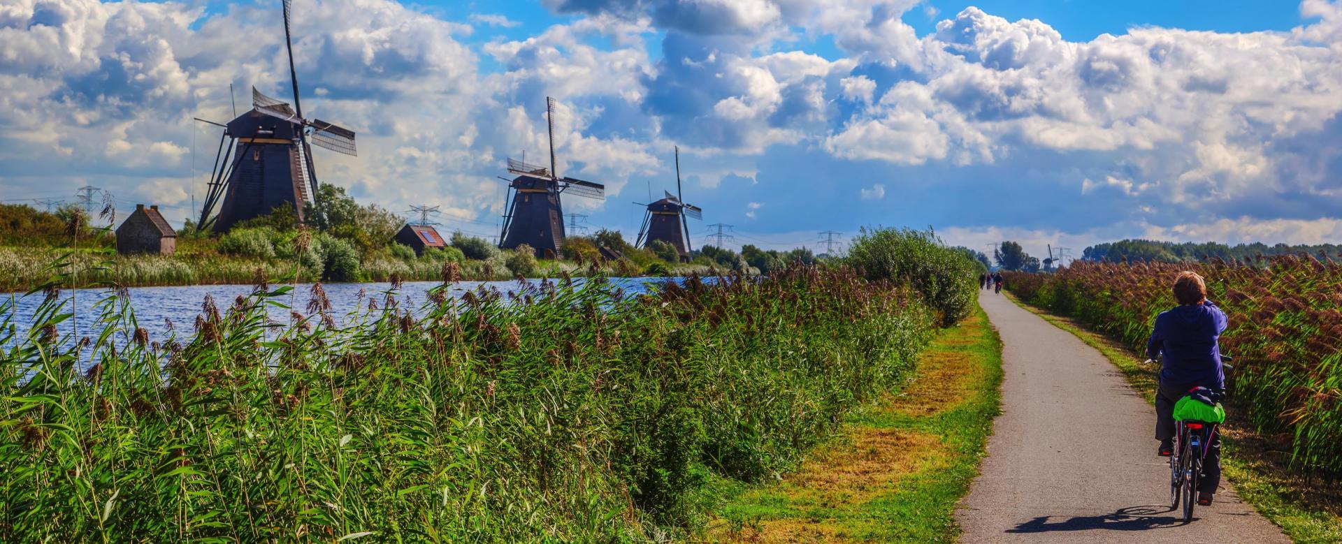 Voyage en véhicule Pays-Bas : De bruges à amsterdam à vélo