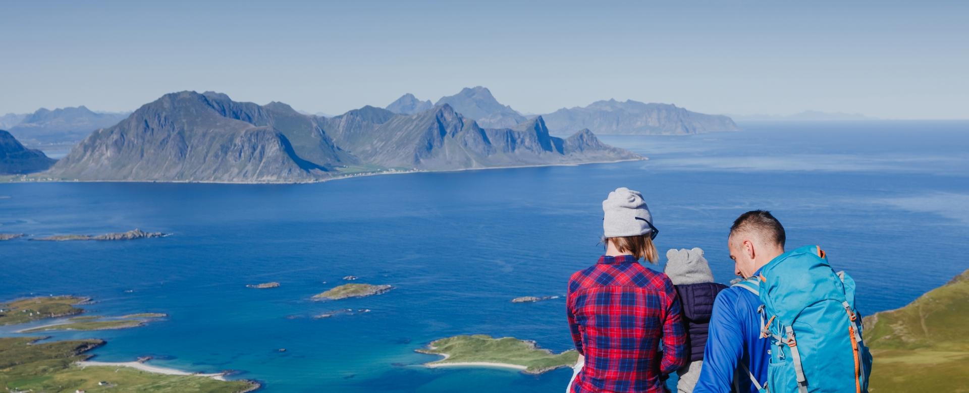 Voyage sur l'eau : Petits vikings aux îles lofoten