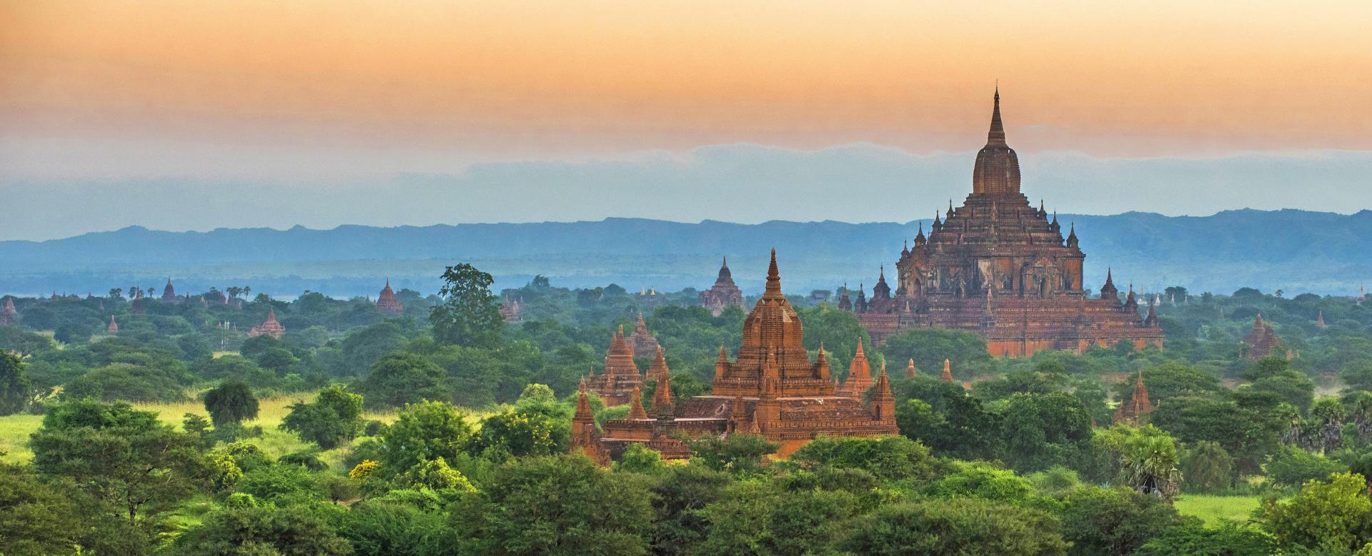 Voyage à pied Birmanie : D'or et de ferveur