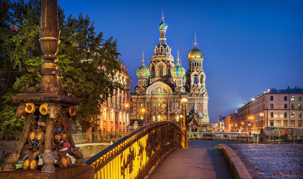 Image Transsibérien en été : saint pétersbourg - baikal