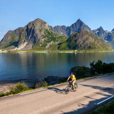A vélo en terre viking