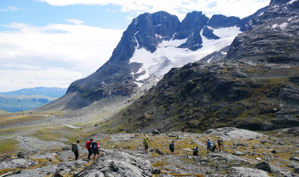 Image Trek : la route historique du jotunheimen