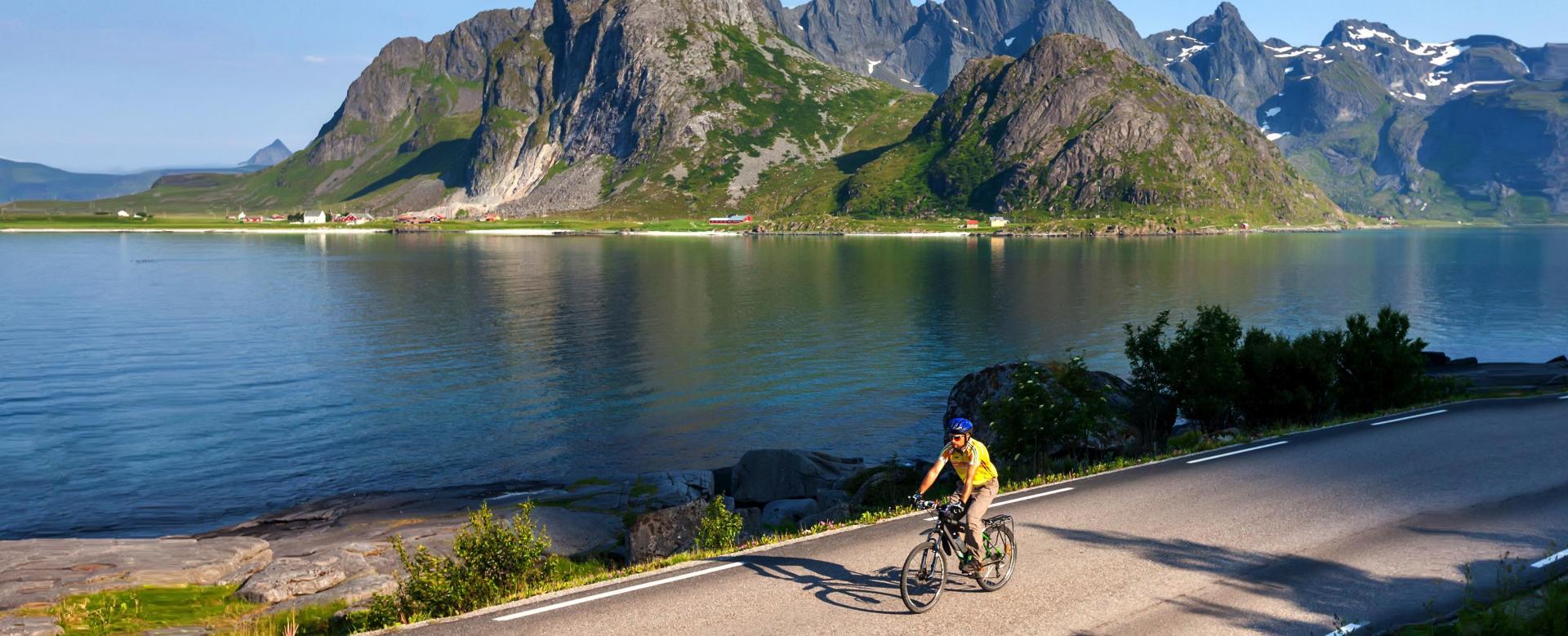 Voyage en véhicule Norvège : A vélo en terre viking