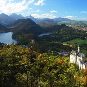 Montagnes baroques de Bavière