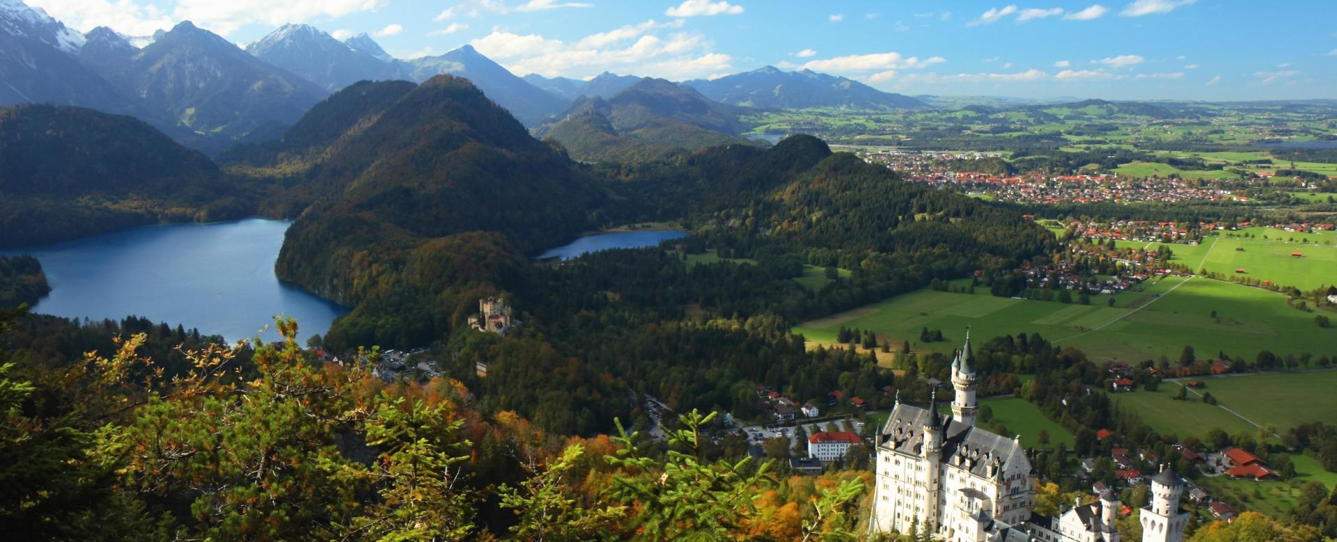 Voyage à pied Allemagne : Montagnes baroques de bavière
