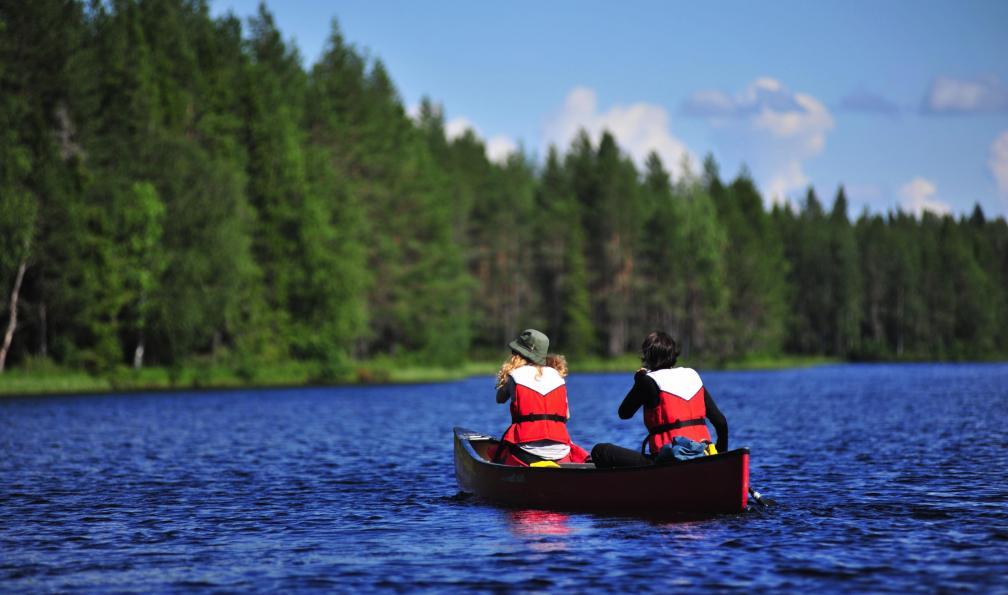 Image La finlande en randonnée, canoë et vtt