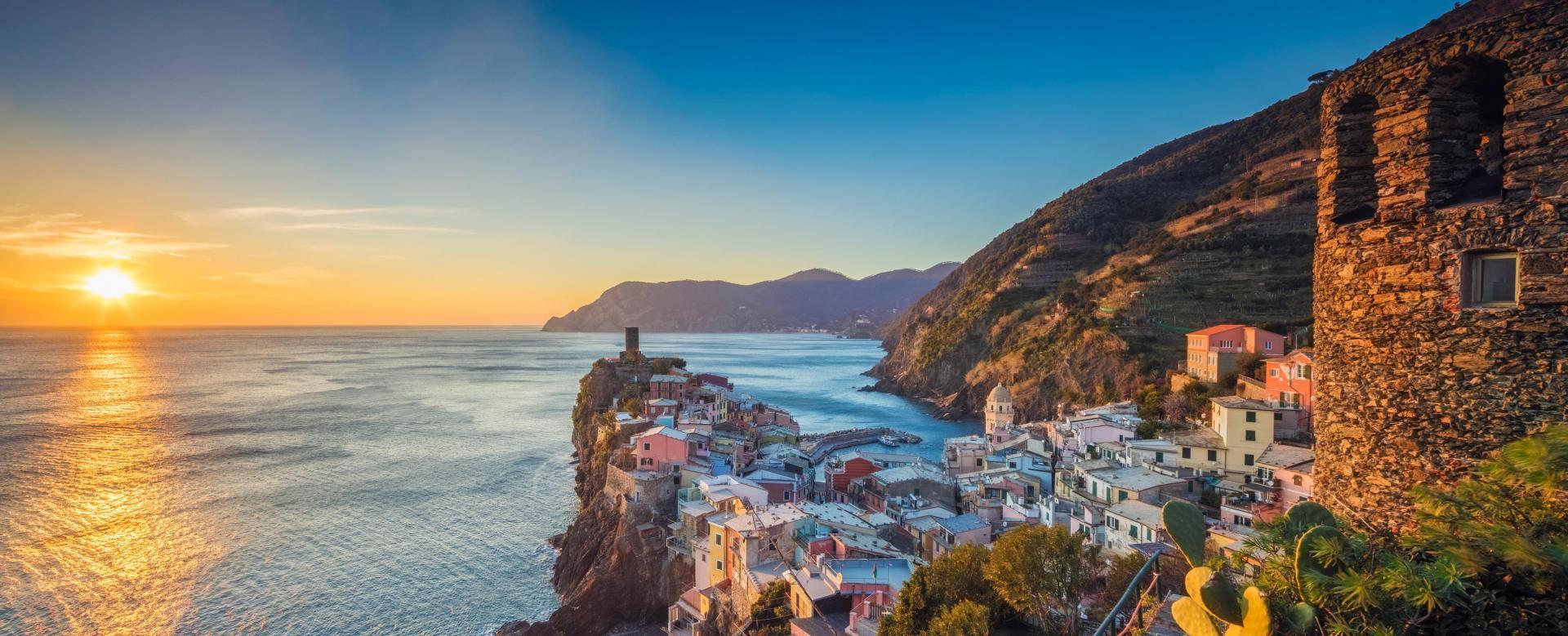 Voyage à pied Italie : Détente aux cinque terre