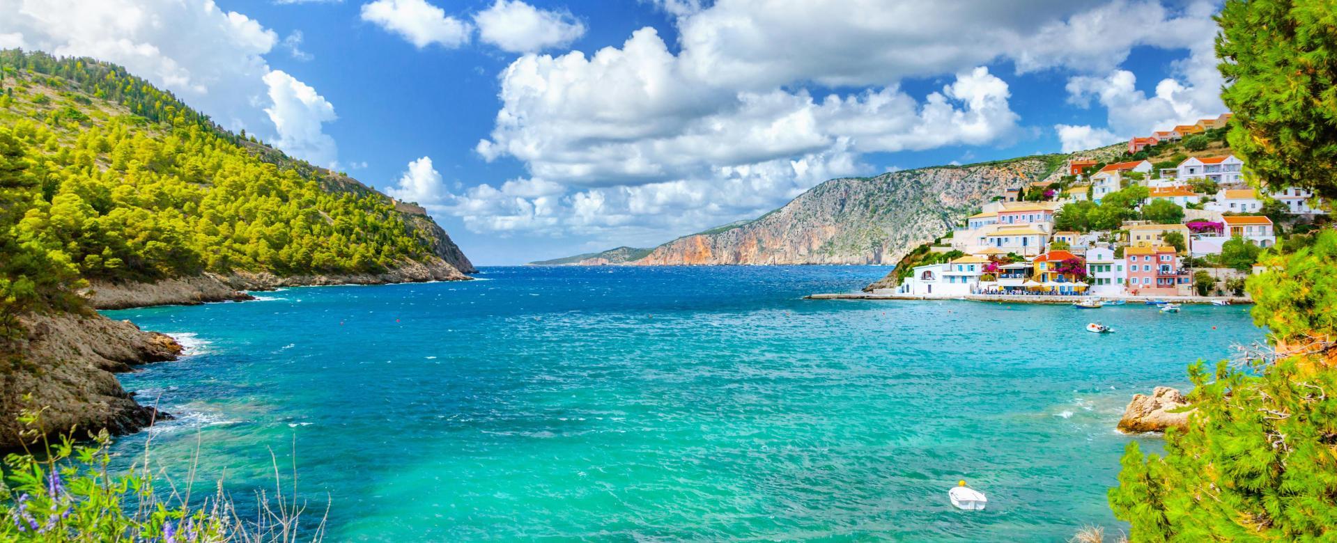 Voyage à pied Grèce : Iles ioniennes, dans les pas d'homère