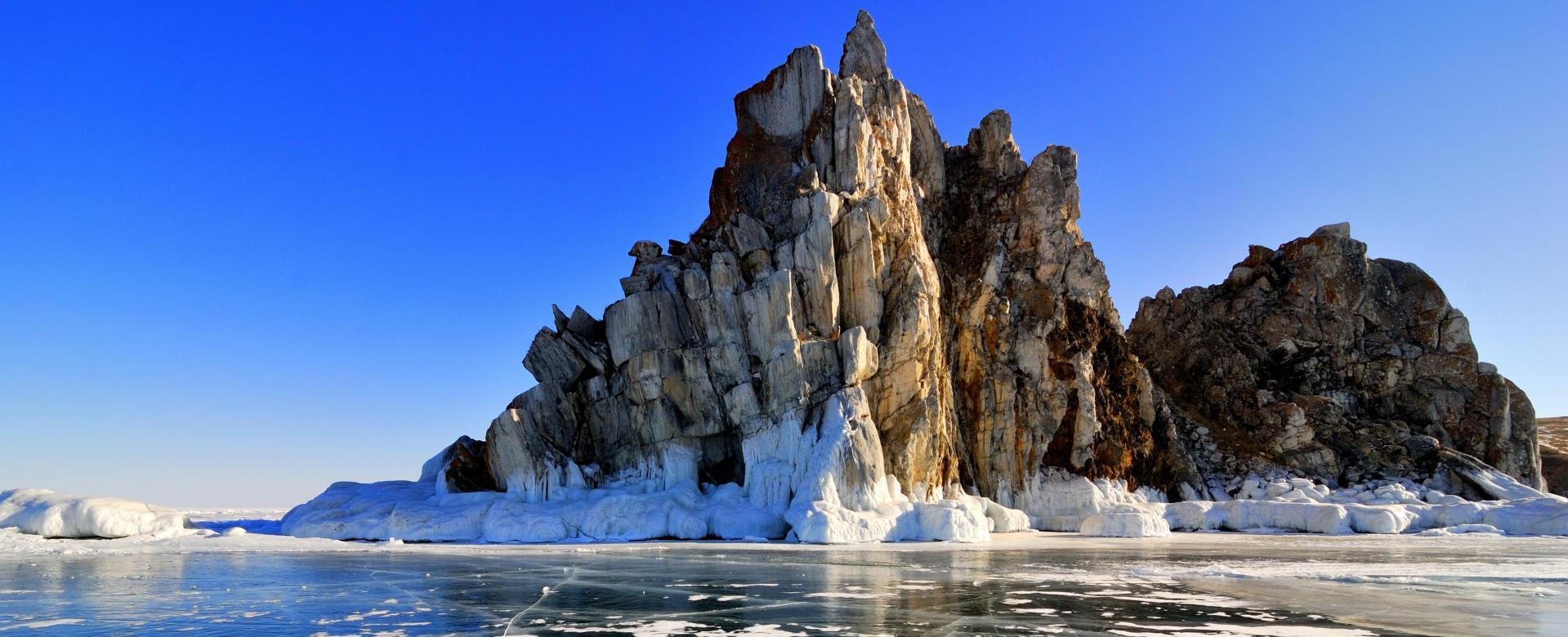 Voyage à pied : Soleils et glaces du baïkal