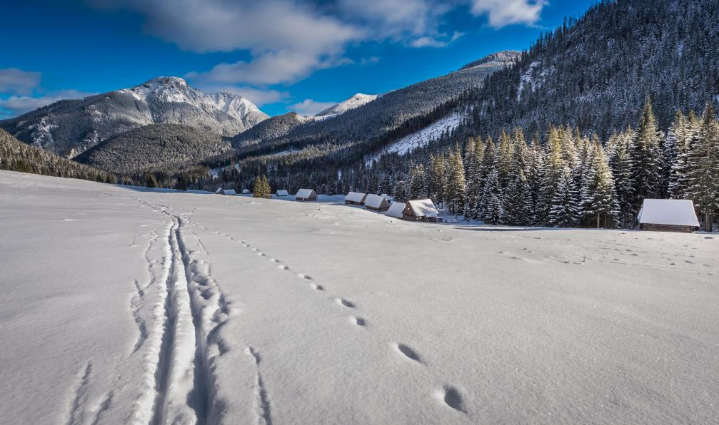 Image La traversée des tatras à skis de randonnée