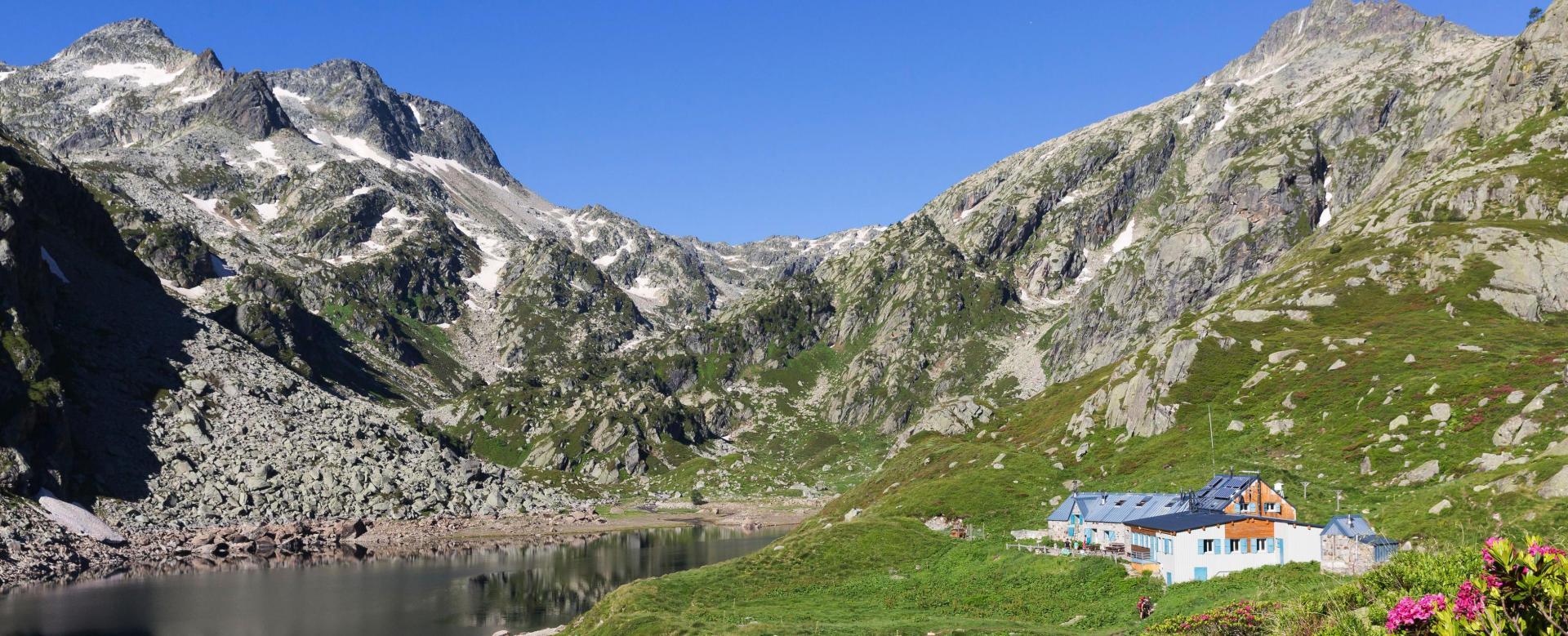 Voyage à pied : Hautes vallées d'ariège et d'andorre