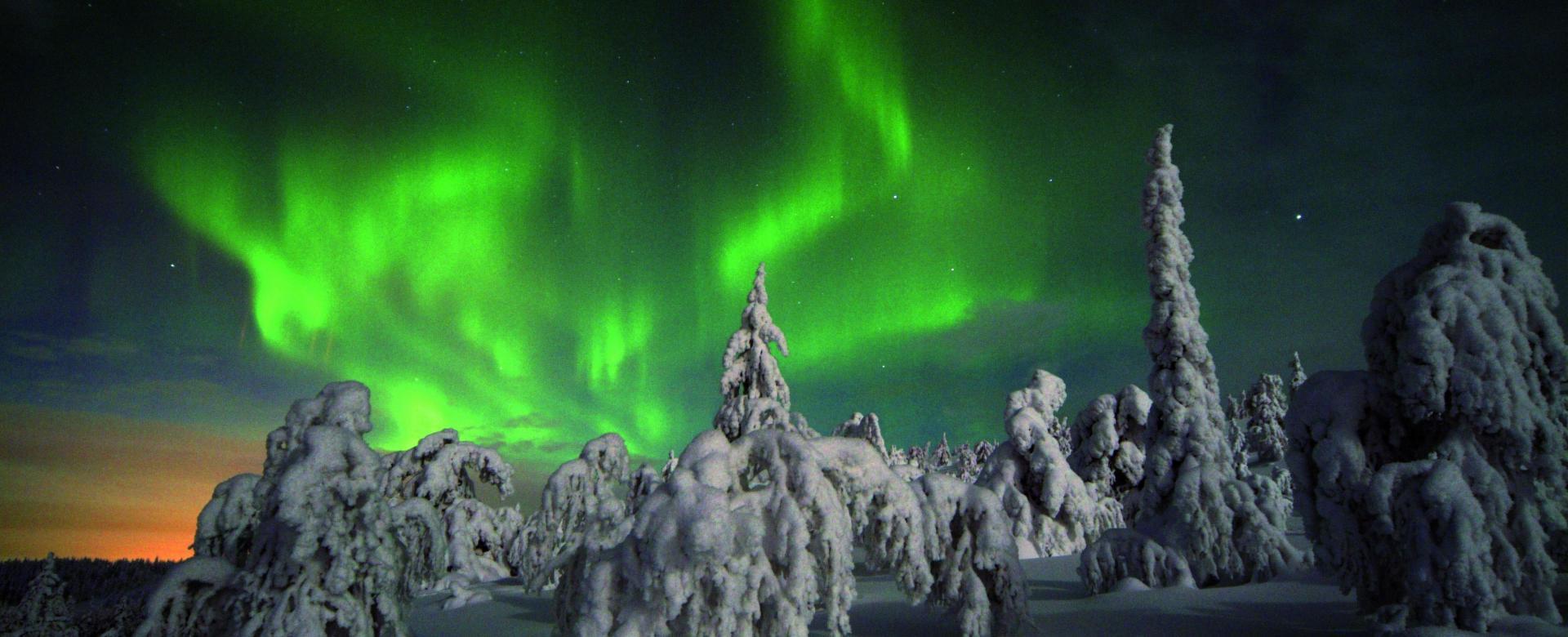 Voyage à pied Finlande : Séjour de glace en laponie