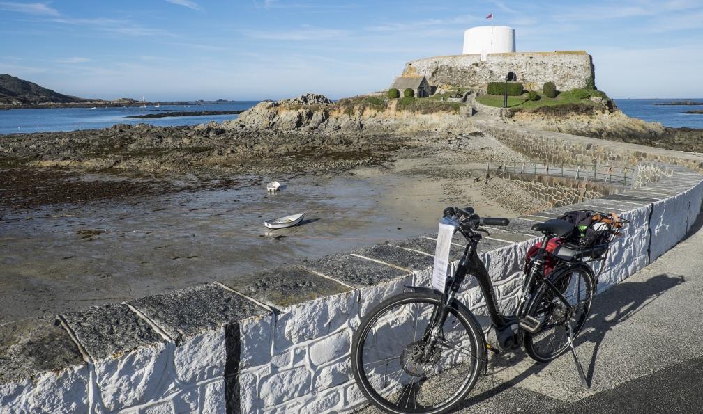 Image Les îles anglo-normandes à vélo