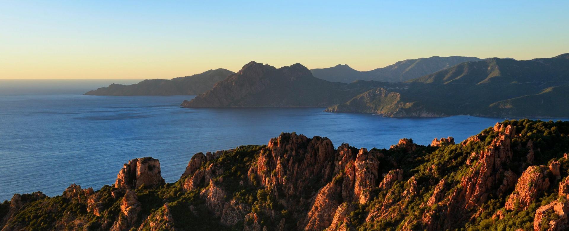 Voyage à pied : Corse : Mare e monti