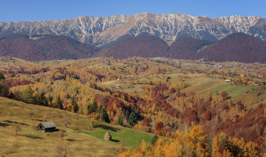Image Roumanie : transylvanie et carpates