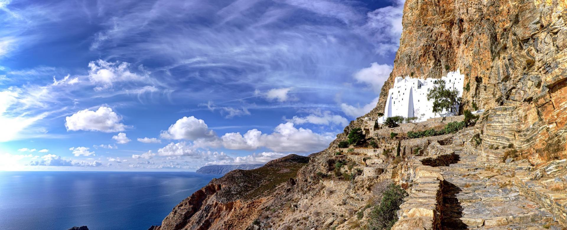 Voyage à pied Grèce : Tinos, naxos et amorgos